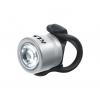 Přední světlo na kolo LED KLS IO F, silver