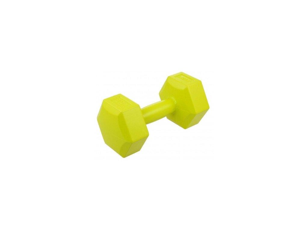 vinylova cinka lifefit 1 x 2 kg sv zelena