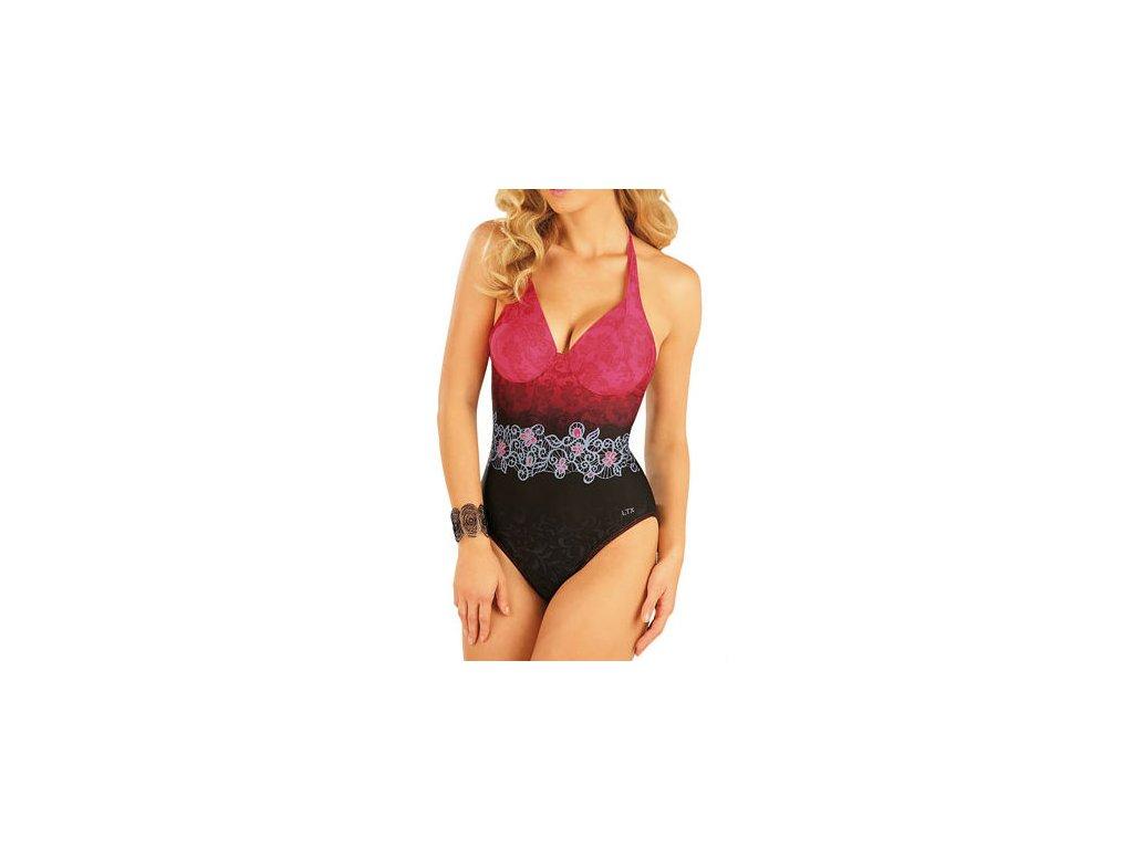 damske jednodilne plavky s kosticemi litex 93042 view