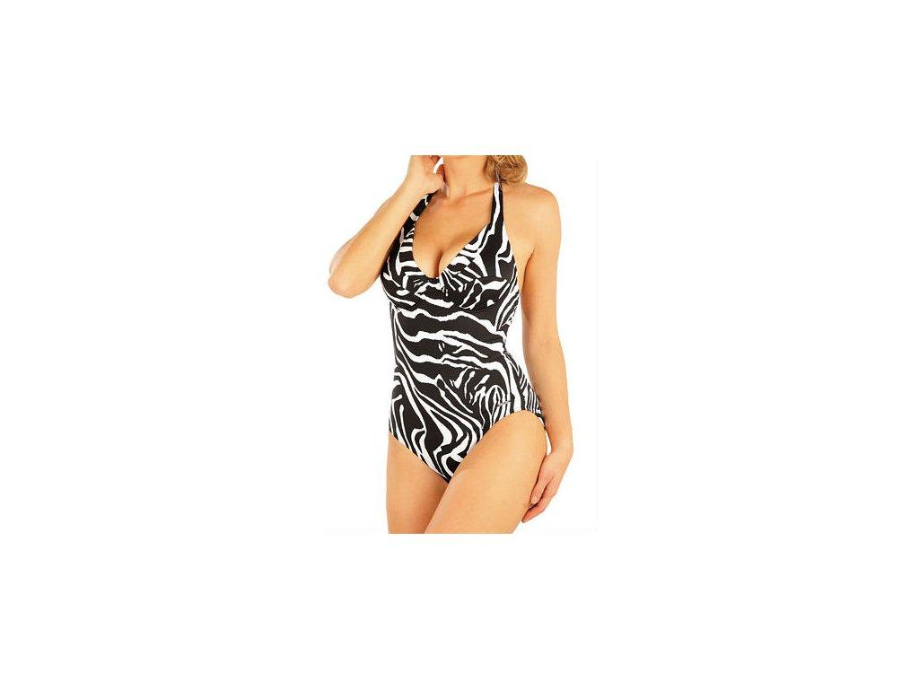 damske jednodilne plavky s kosticemi litex 93271 view