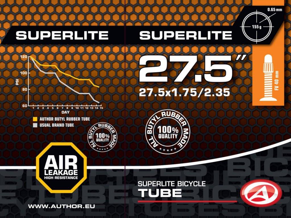 """Author Duše AT-MTB-27,5"""" SuperLite FV40"""