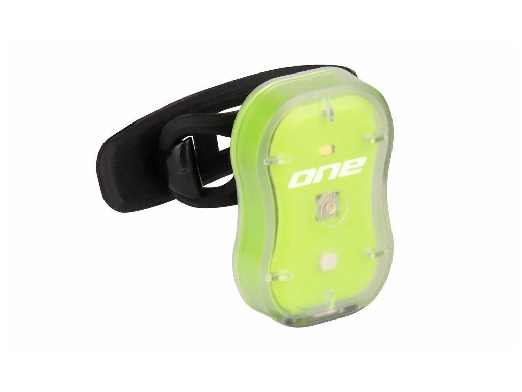 Rock Machine zadní blikačka R.Light 15 USB, zelená