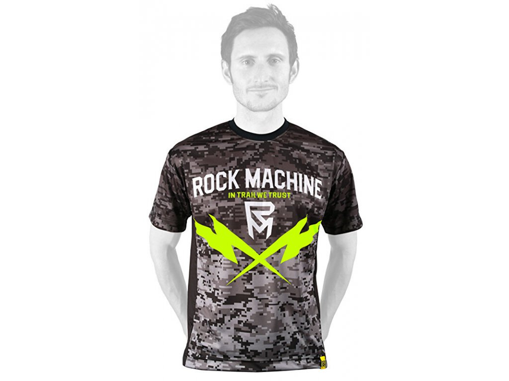 Rock Machine dres Trail Camo, vel. S
