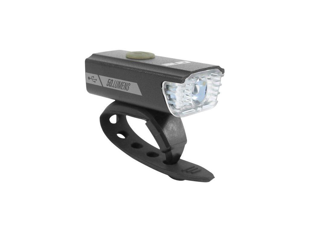 Rock Machine přední světlo F.Light 20 USB, 50 lm