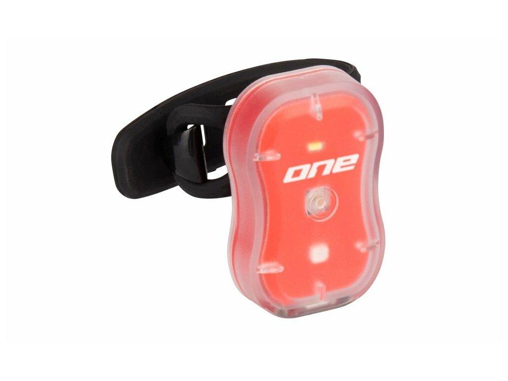 Rock Machine zadní blikačka R.Light 15 USB, červená
