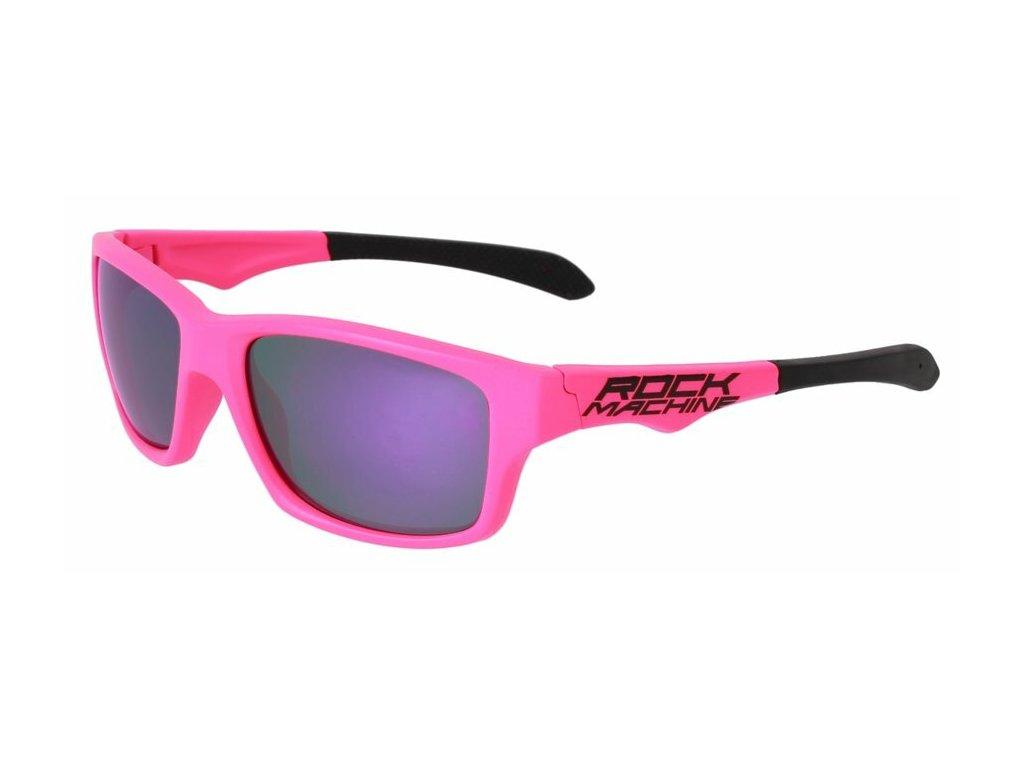 Rock Machine brýle Peak, růžové
