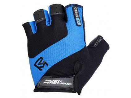 Rock Machine rukavice ProSpeed, modro/černé, vel. S