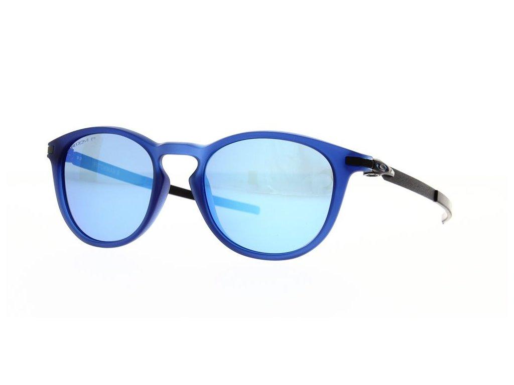 oakley sunglasses pitchman r matte translucent blue prizm sapphire polarised oo9439 1350