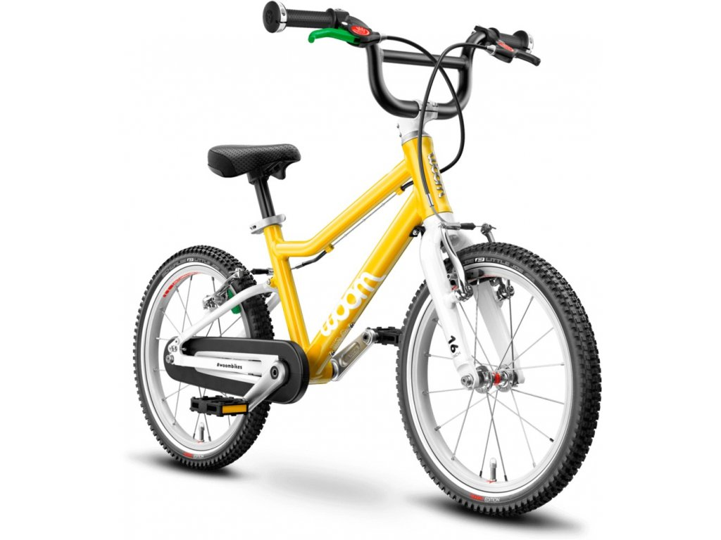"Woom 3 2021 16"" sunny yellow (žlutá)"
