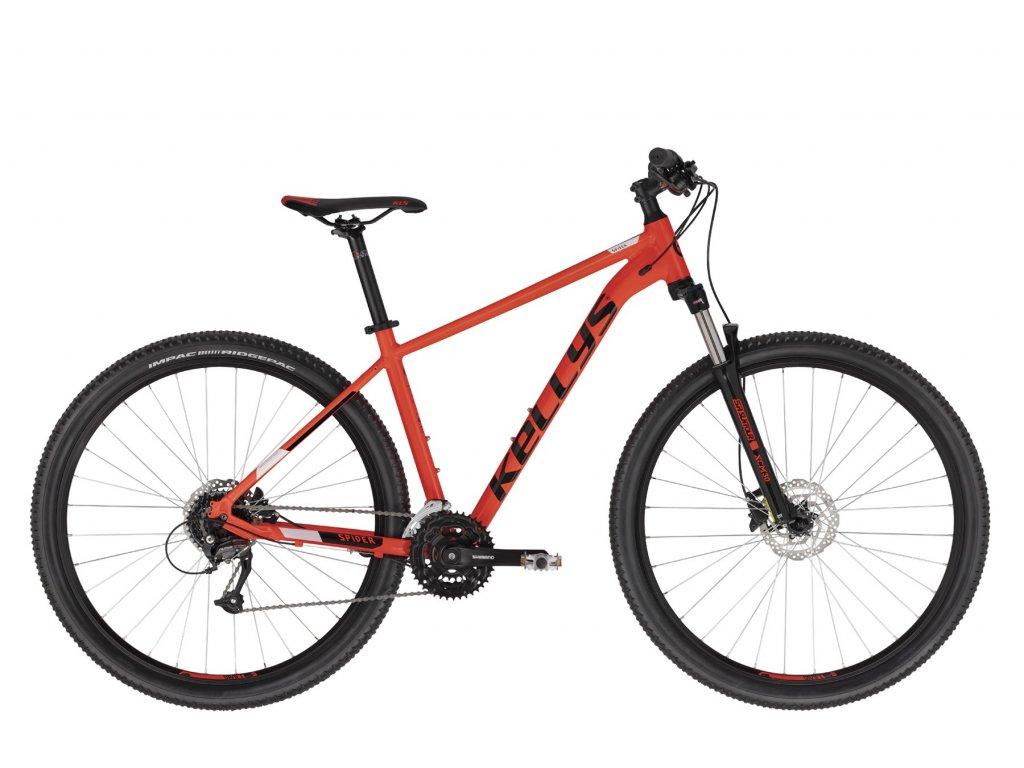 Horské kolo Kellys SPIDER 50 - red - model 2021 | CykloWorld.eu