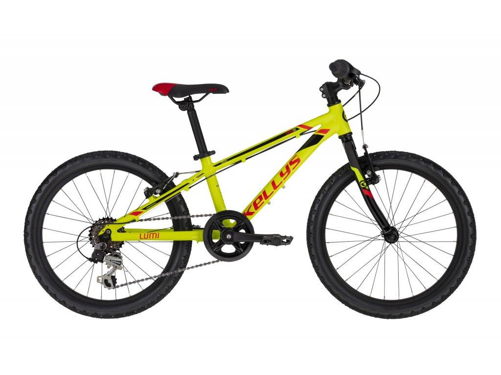 Dětské kolo Kellys LUMI 30 - neon yellow - model 2021   CykloWorld.eu