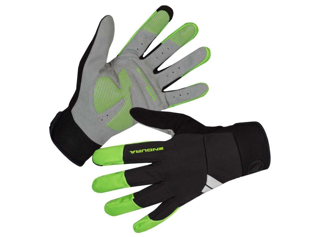 Rukavice Endura Windchill - svítivě zelená - E1186GV | CykloWorld.eu