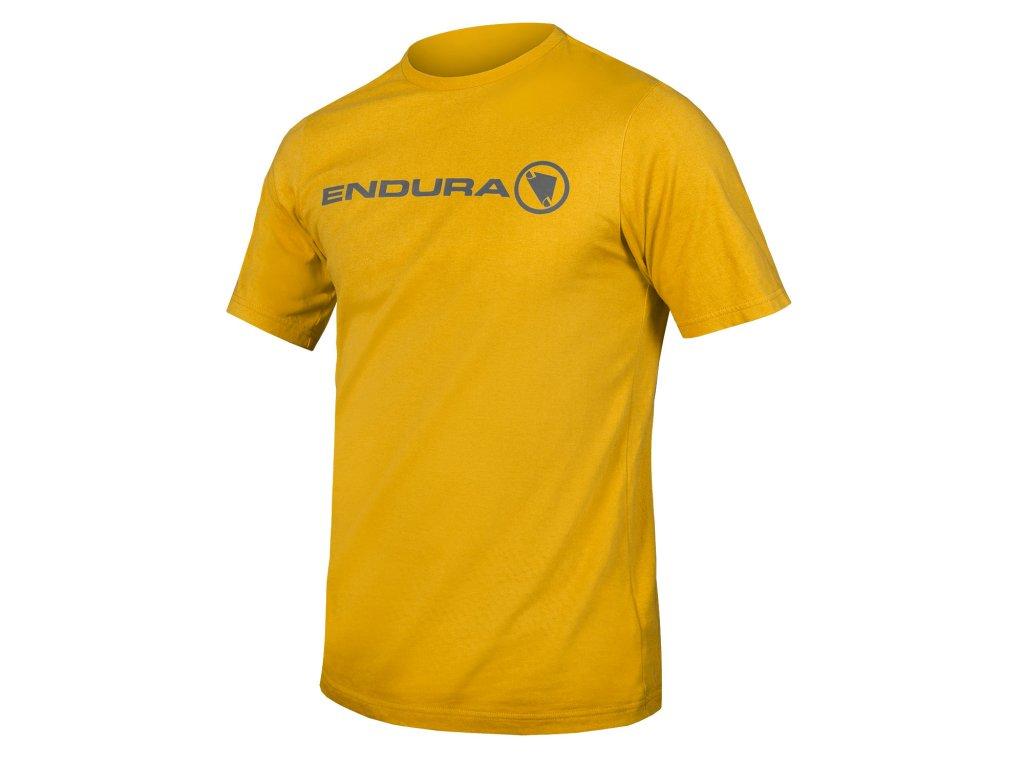 Pánské triko s krátkým rukávem Endura One Clan Light T - žlutá hořčicová - E3154YM   CykloWorld.eu