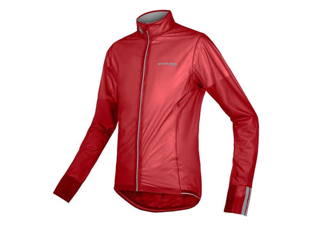 Pánská bunda Endura FS260-Pro Adrenaline Race Cape II - červená - E9106RD   CykloWorld.eu