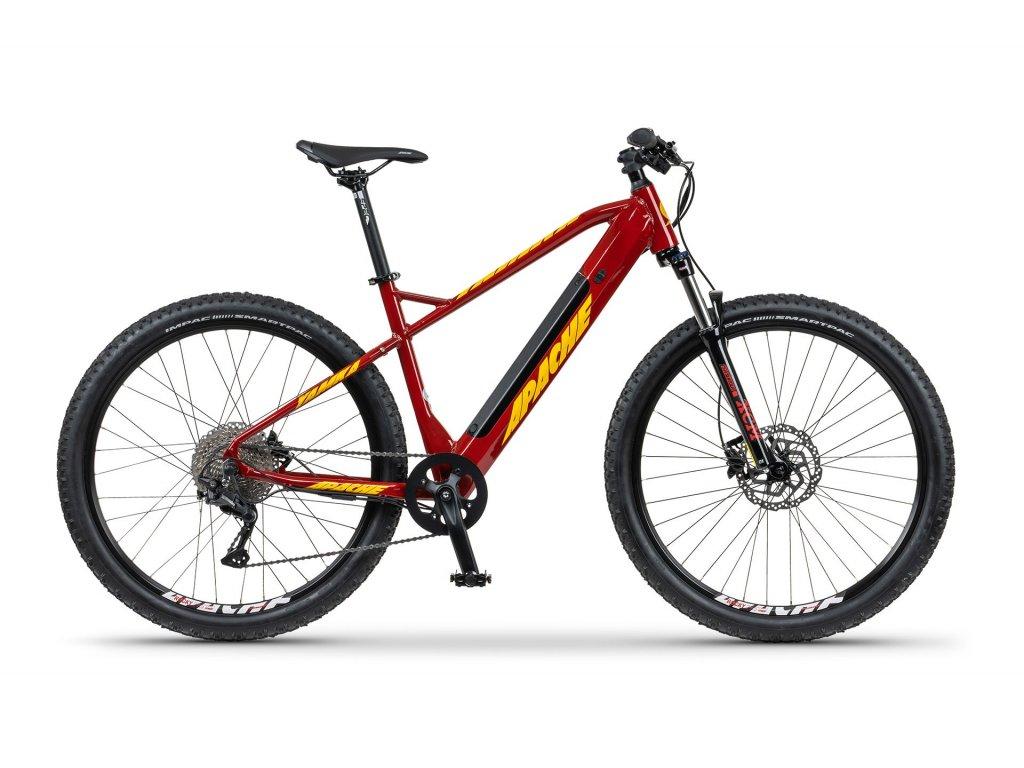 Dámské horské elektrokolo Apache YAMKA E5 (červená) - model 2021   CykloWorld.eu