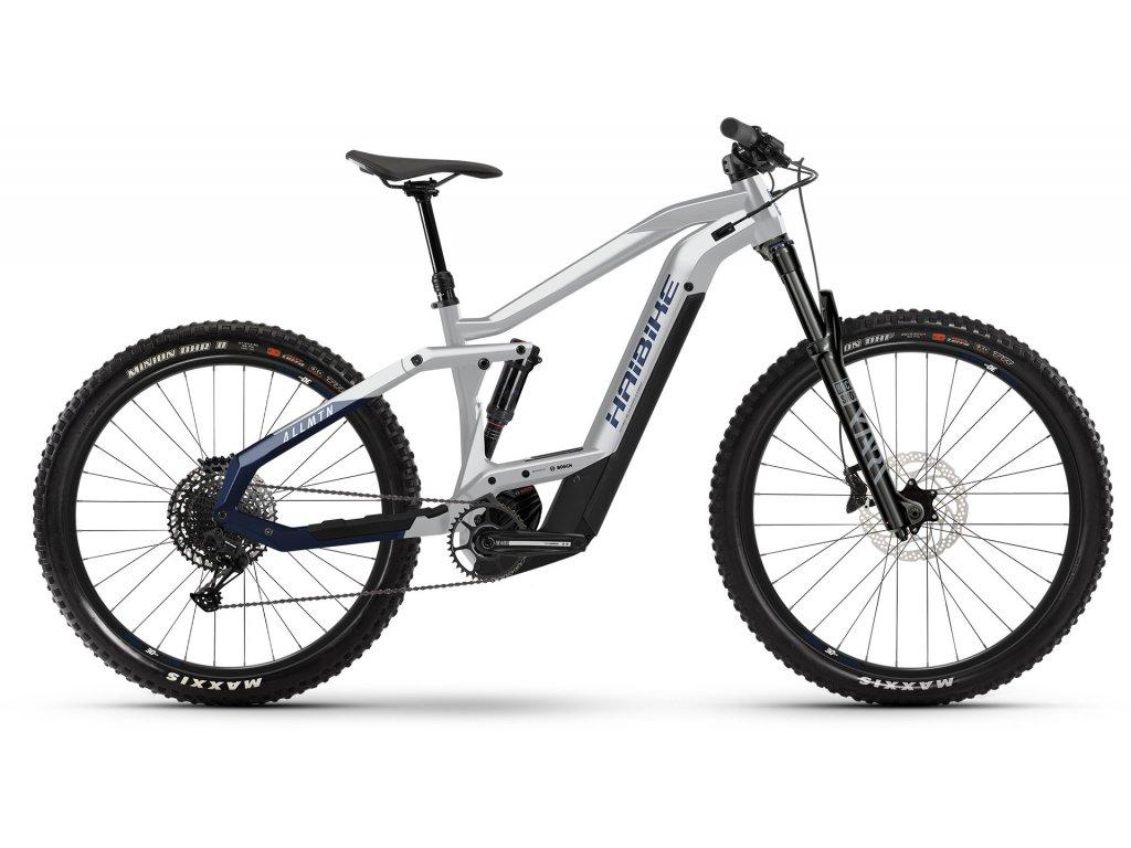 Haibike AllMtn 3 (sparkling white/blue) 2021   CykloWorld.eu