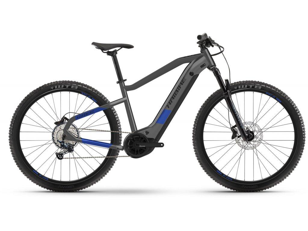 Haibike HardNine 7 (Anthracite/indigo) 2021   CykloWorld.eu