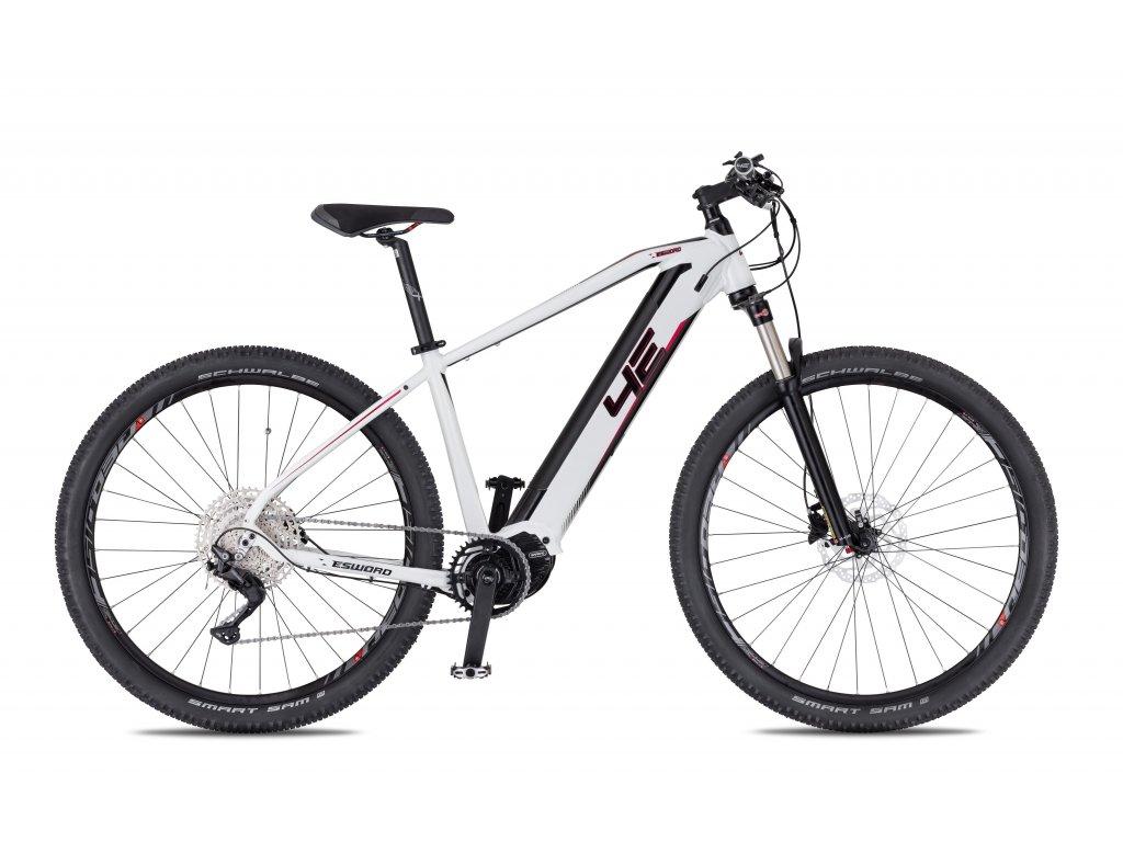 Horské elektrokolo 4Ever Esword Sport Lady - bílá/metalická růžová - model 2021   CykloWorld.eu