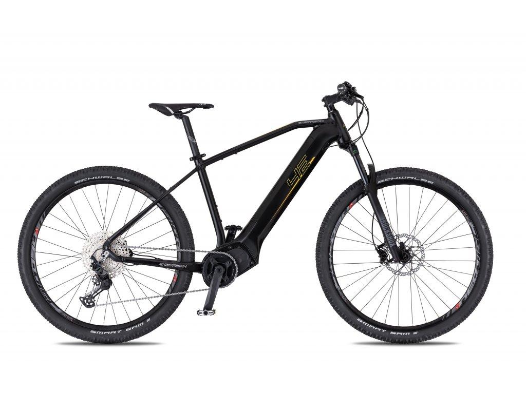 Horské elektrokolo 4Ever EXstream Team - černá/zlatá - model 2021   CykloWorld.eu