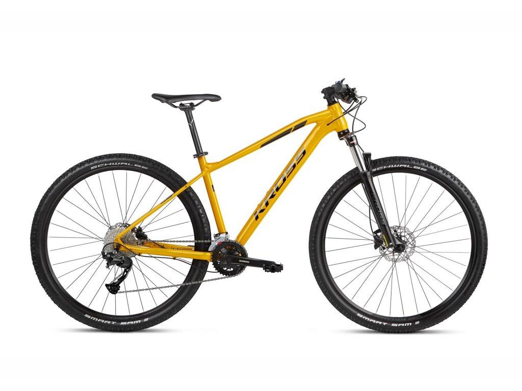 Horské kolo Kross LEVEL 2.0 (yellow/black) - yellow/black - model 2021 | CykloWorld.eu