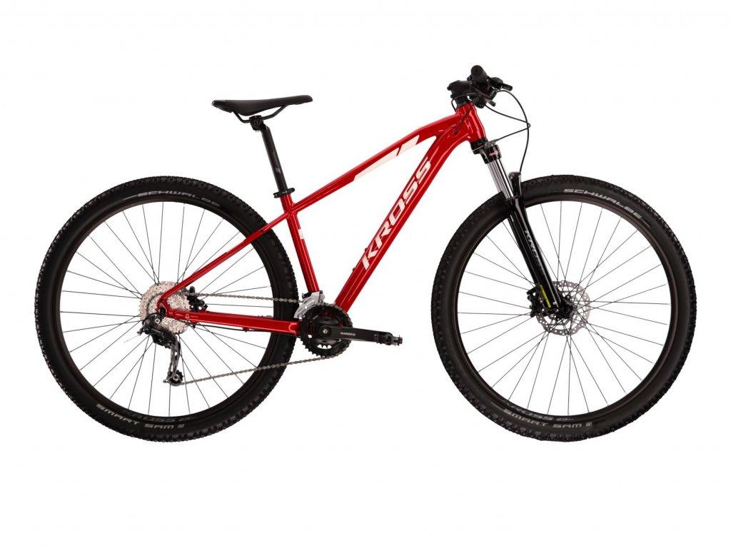 Horské kolo Kross LEVEL 3.0 (red/white) - red/white - model 2021   CykloWorld.eu