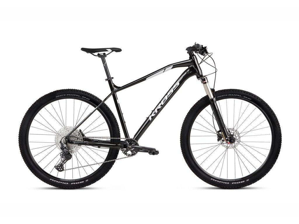 Horské kolo Kross LEVEL 5.0 SR (black/silver) - black/silver - model 2021 | CykloWorld.eu