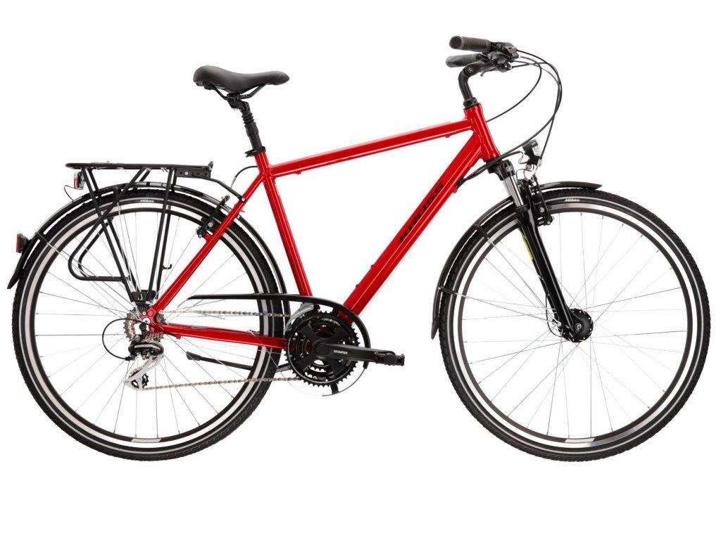Trekové / krosové kolo Kross TRANS 3.0 (red/black) - red/black - model 2021   CykloWorld.eu