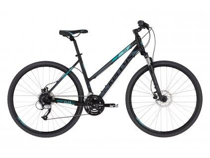 Dámské krosové kolo Kellys CLEA 90 - black aqua - model 2021 | CykloWorld.eu
