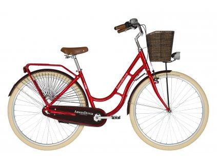 Retro kolo s nízkým nástupem Kellys ARWEN DUTCH - red - model 2021   CykloWorld.eu