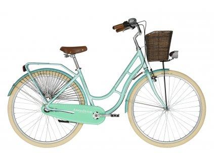 Retro kolo s nízkým nástupem Kellys ARWEN DUTCH - menthol - model 2021   CykloWorld.eu