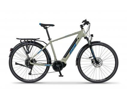 Trekové elektrokolo Apache MATTO TOUR MX5 (šedá) - model 2021   CykloWorld.eu