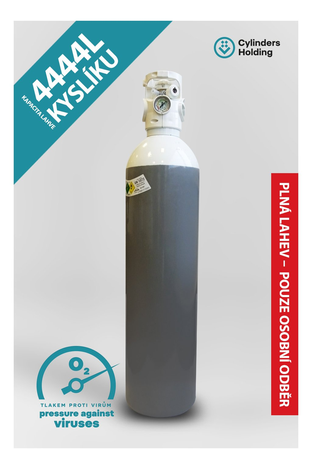 20L profilovka oxygen Cavagna