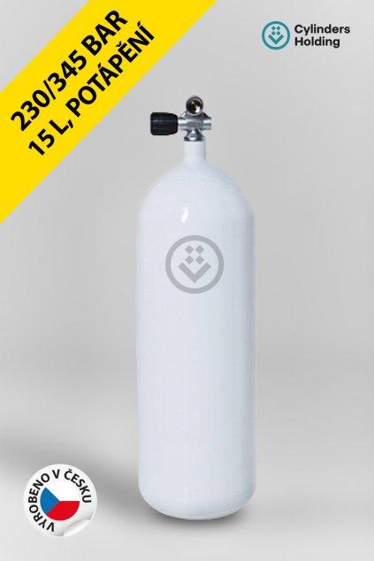 profilovka prazdna 15L potápěčská lahev