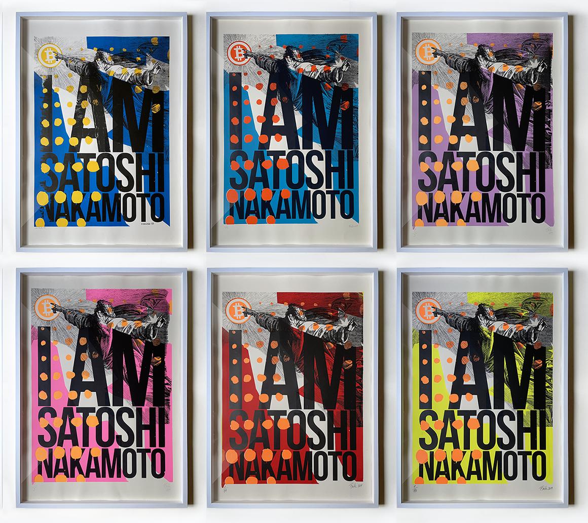 I AM SATOSHI NAKAMOTO - 2017-19 number 1 prints