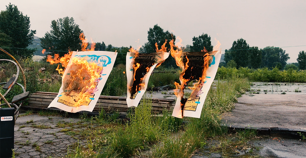 Burning Citadel21 prints
