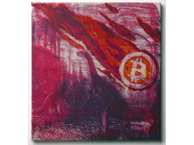 Bitcoin Meteorite print A