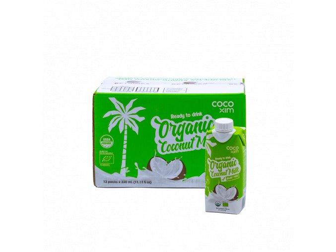 OCCMO3 8938507849803 BIO Kokosový nápoj originál 330ml karton