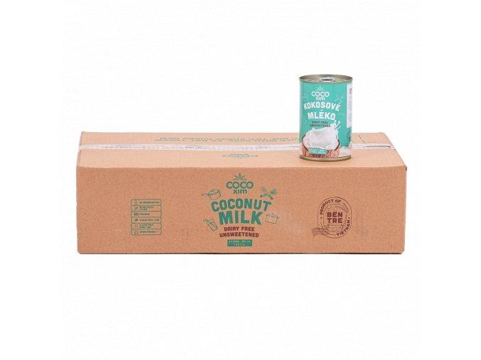 Cocoxim kokosové mléko na vaření 400ml kartonprodukt
