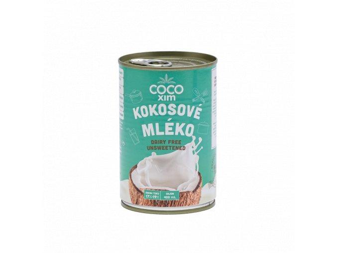Cocoxim kokosové mléko na vaření 400ml titul