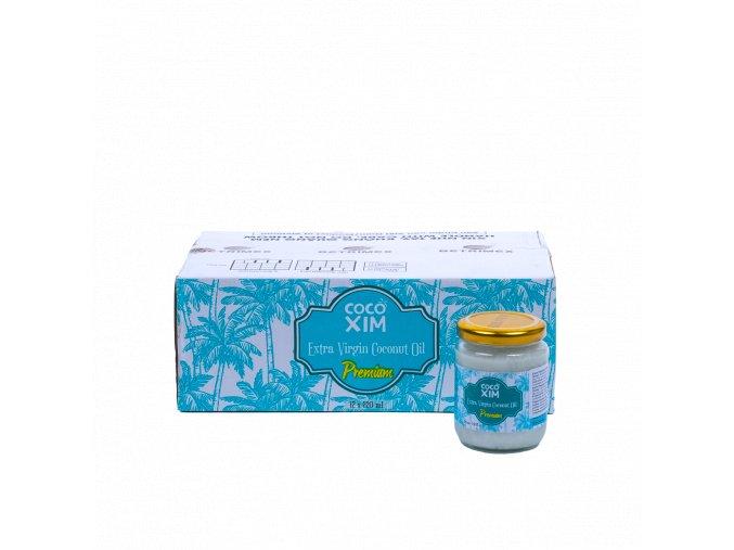 POIL2 8936190950059 Premium kokosový olej 220ml karton
