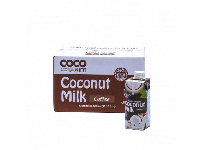 CCMC 8938507849315 Kokosový nápoj káva 330ml karton
