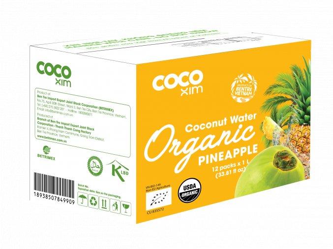 3D Organic Pineapple CW 1L
