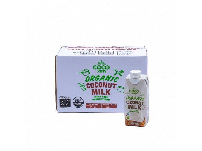 OCMC3 8936190950110 BIO Kokosové mléko na vaření 330ml karton