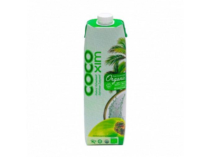 Cocoxim kokosová voda organic 1000ml titul