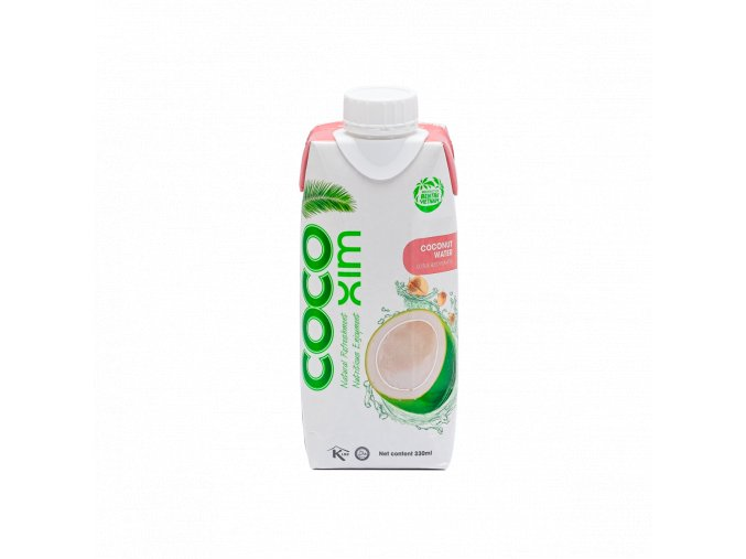 Cocoxim kokosová voda lotos 330ml titul
