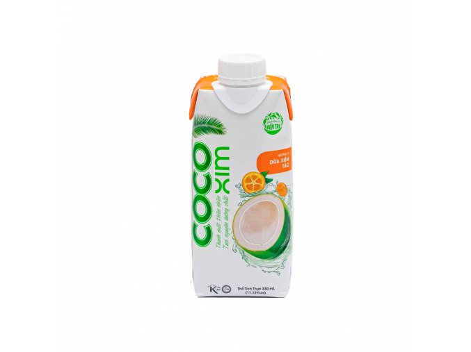 Cocoxim kokosová voda citrus 330ml titul