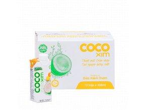 Cocoxim kokosová voda ananas330ml kartonprodukt