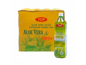 TAVGT15 8712857010706 TOP Aloe Vera Green Tea 1500ml karton