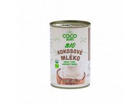 Cocoxim BIO kokosové mléko na vaření 400ml titul