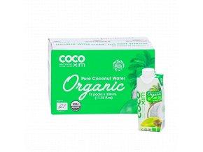 Cocoxim kokosová voda organic 330ml kartonprodukt